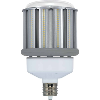 Satco Hi-Pro 100W Clear Corn Cob Mogul Base LED High-Intensity Replacement Light Bulb