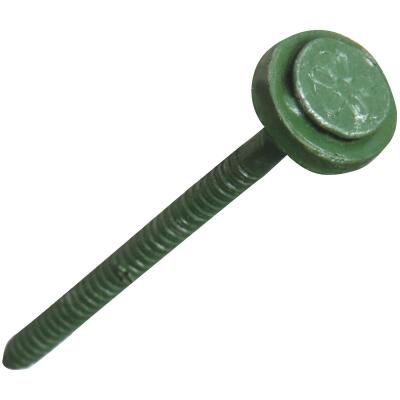 Ondura 3 In. Green Galvanized Roofing Washered Nails (100 Ct.)