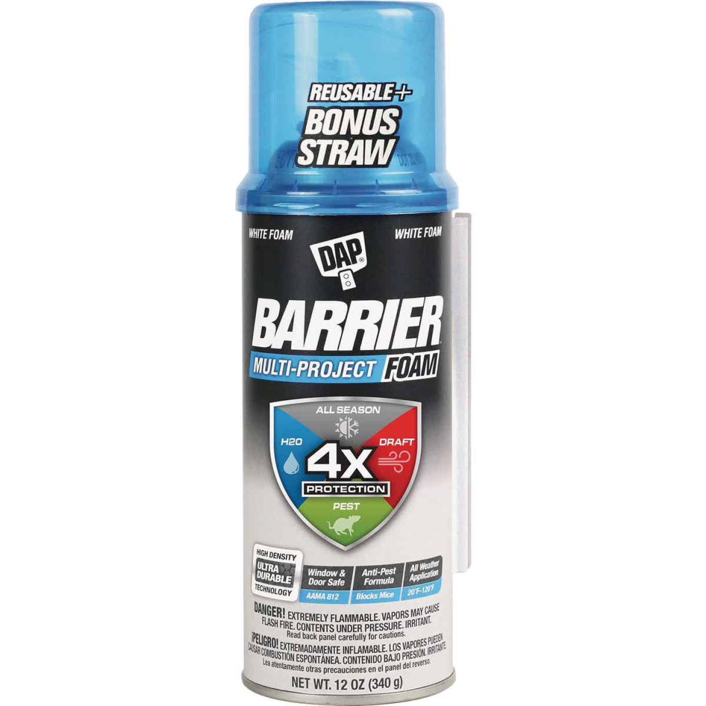 Dap Barrier 12 Oz. Multi-Project Foam Sealant Image 1