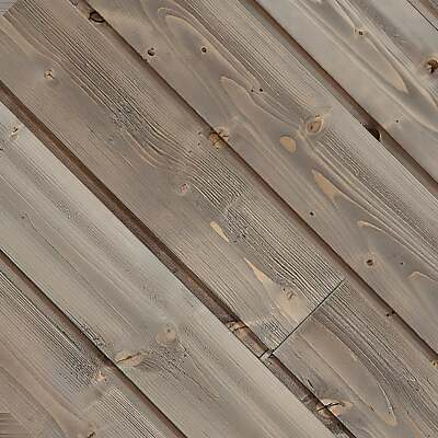 Global Product Sourcing 5.375 In W. x 5/16 In. Thick Gray Reclaimed Wood Shiplap Board