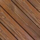Global Product Sourcing 5.375 In W. x 5/16 In. Thick Brown Reclaimed Wood Shiplap Board Image 1