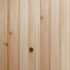 Global Product Sourcing 3-1/2 In. W. x 8 Ft. L. x 5/16 In. Thick Knotty Cedar Reversible Profile Wall Plank (6-Pack) Image 1