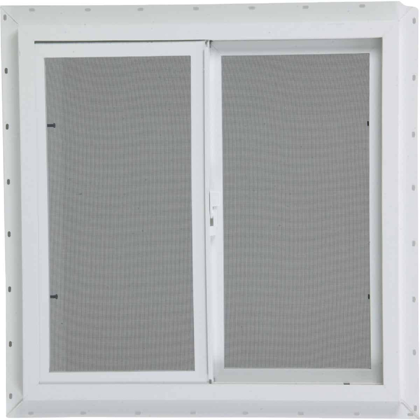 Northview 35-1/2 In. W. x 23-1/2 In. H. White PVC Single Glazed Utility Sliding Window Image 2
