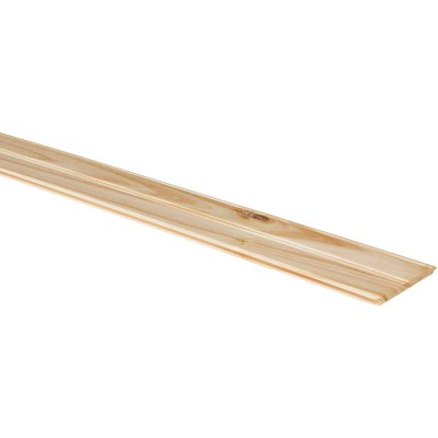 DPI 3-1/2 In. W. x 8 Ft. L. x 5/16 In. Thick Pine Bead Board Wall Plank (6-Pack)