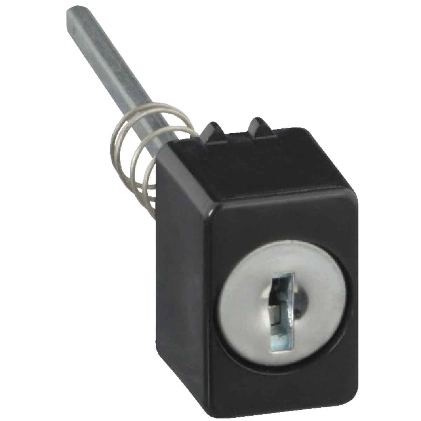 National Key Lock Thumb Button Assembly Image 1