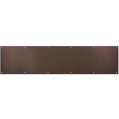 National 8 In. x 34 In. Oil-Rubbed Bronze Aluminum Kickplate