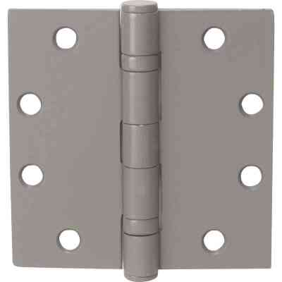 Tell Commercial 4-1/2 In. Square Prime Coat Ball Bearing Door Hinge (3-Pack)