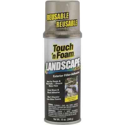 Touch 'n Foam Landscape Repair 12 Oz. Filler-Adhesive Foam Sealant