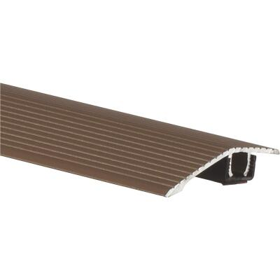 Frost King Satin Cocoa 1-3/16 In. W x 36 In. L Aluminum Reducer Floor Transition