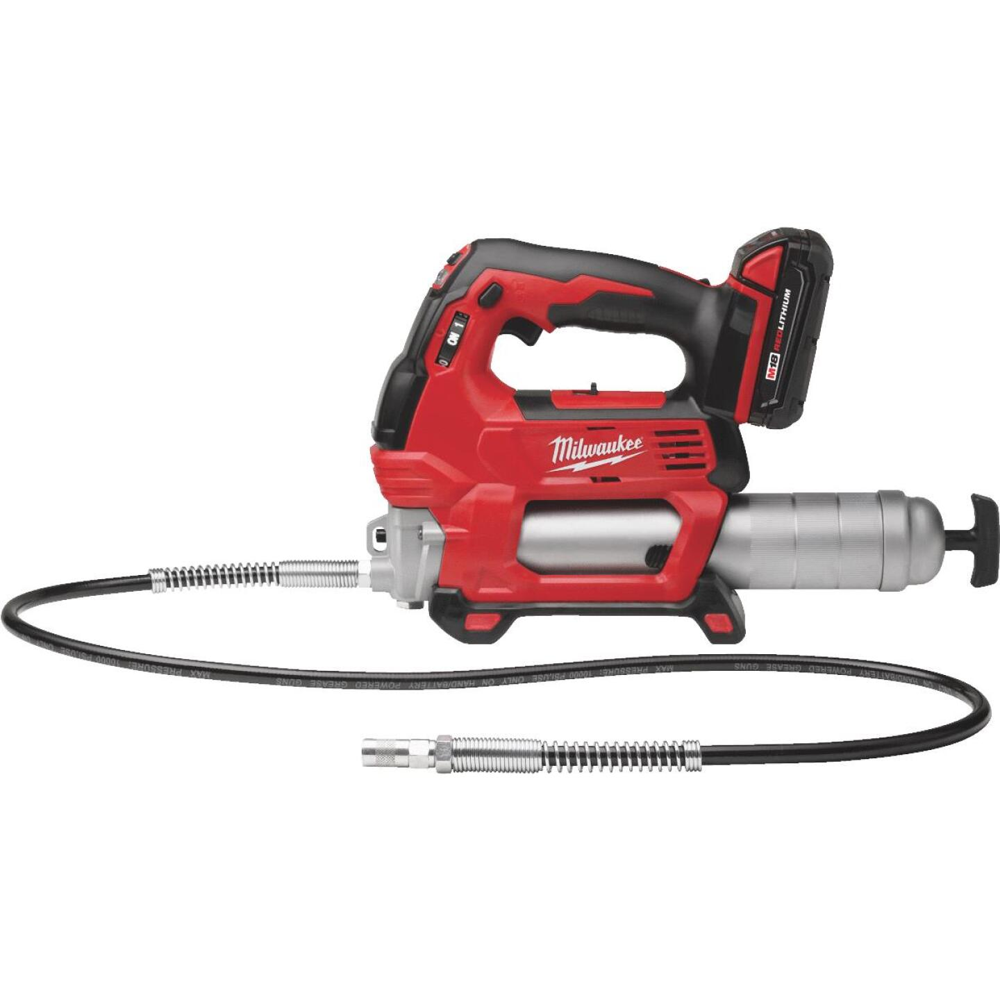 Milwaukee M18 18-Volt Lithium-Ion 2-Speed Cordless Grease Gun Kit Image 1