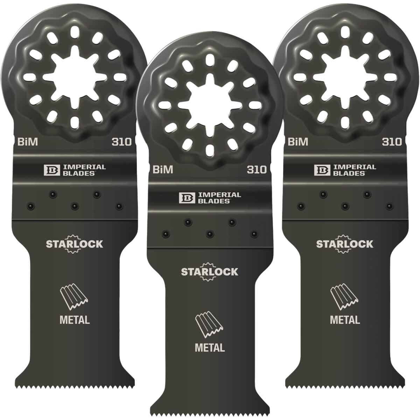 Imperial Blades Starlock 1-1/5 In. 21 TPI Metal Oscillating Blade (3-Pack) Image 1