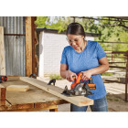 Black & Decker 20 Volt MAX Lithium-Ion 5-1/2 In. Cordless Circular Saw Kit Image 3