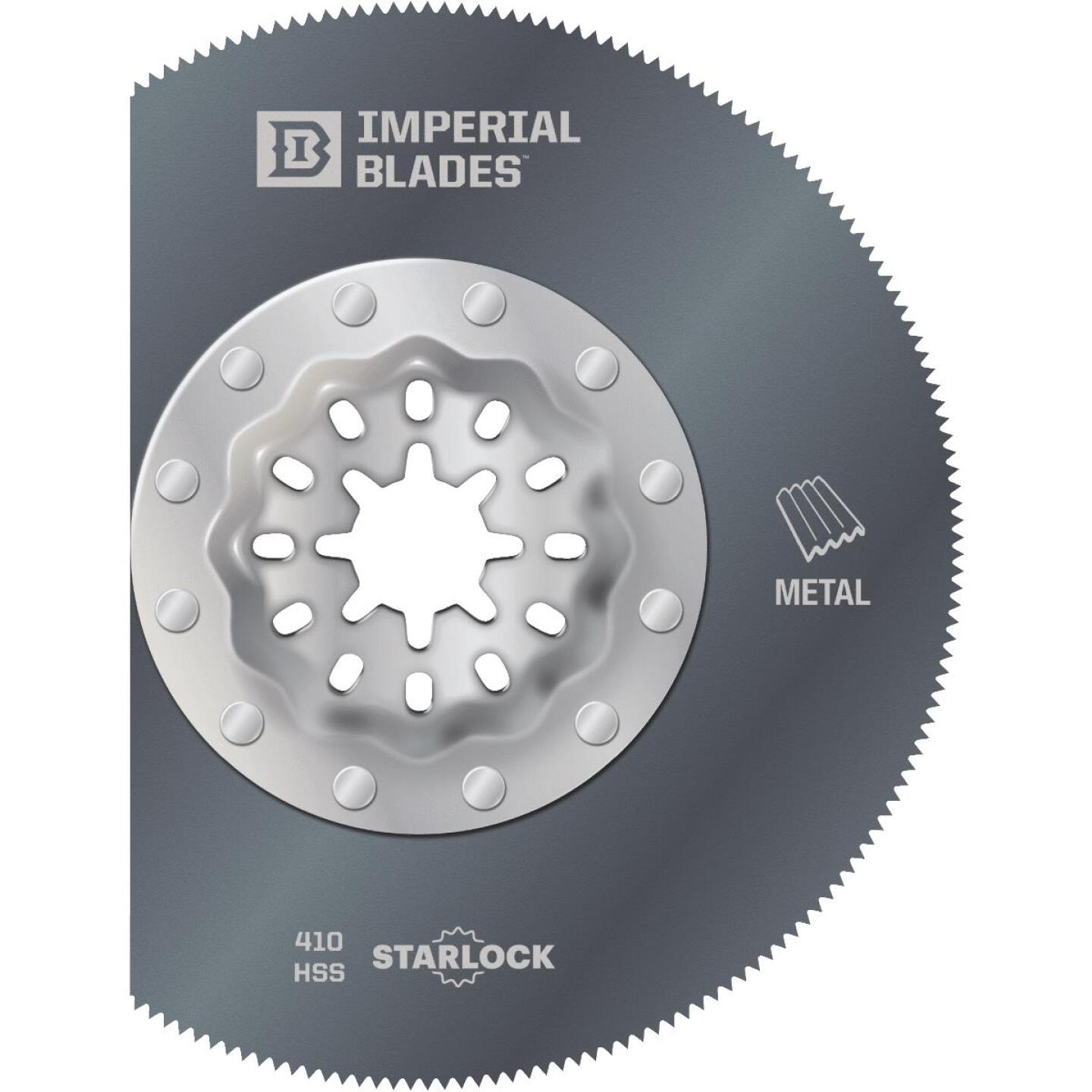 Imperial Blades Starlock 3-1/3 In. 20 TPI Segmented Wood/Nail Oscillating Blade Image 1