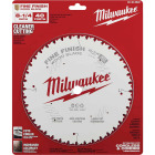 Milwaukee 8-1/4 In. 40-Tooth Fine Finish Circular Saw Blade Image 2