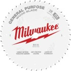 Milwaukee 12 In. 44-Tooth General Purpose Wood Circular Saw Blade Image 1