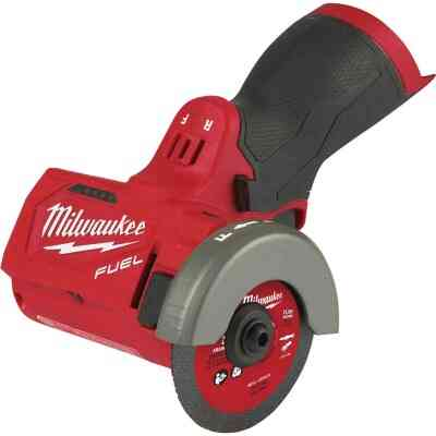 Milwaukee M12 FUEL 12-Volt Lithium-Ion Brushless 3 In. Compact Cordless Cut-Off Tool (Bare Tool)