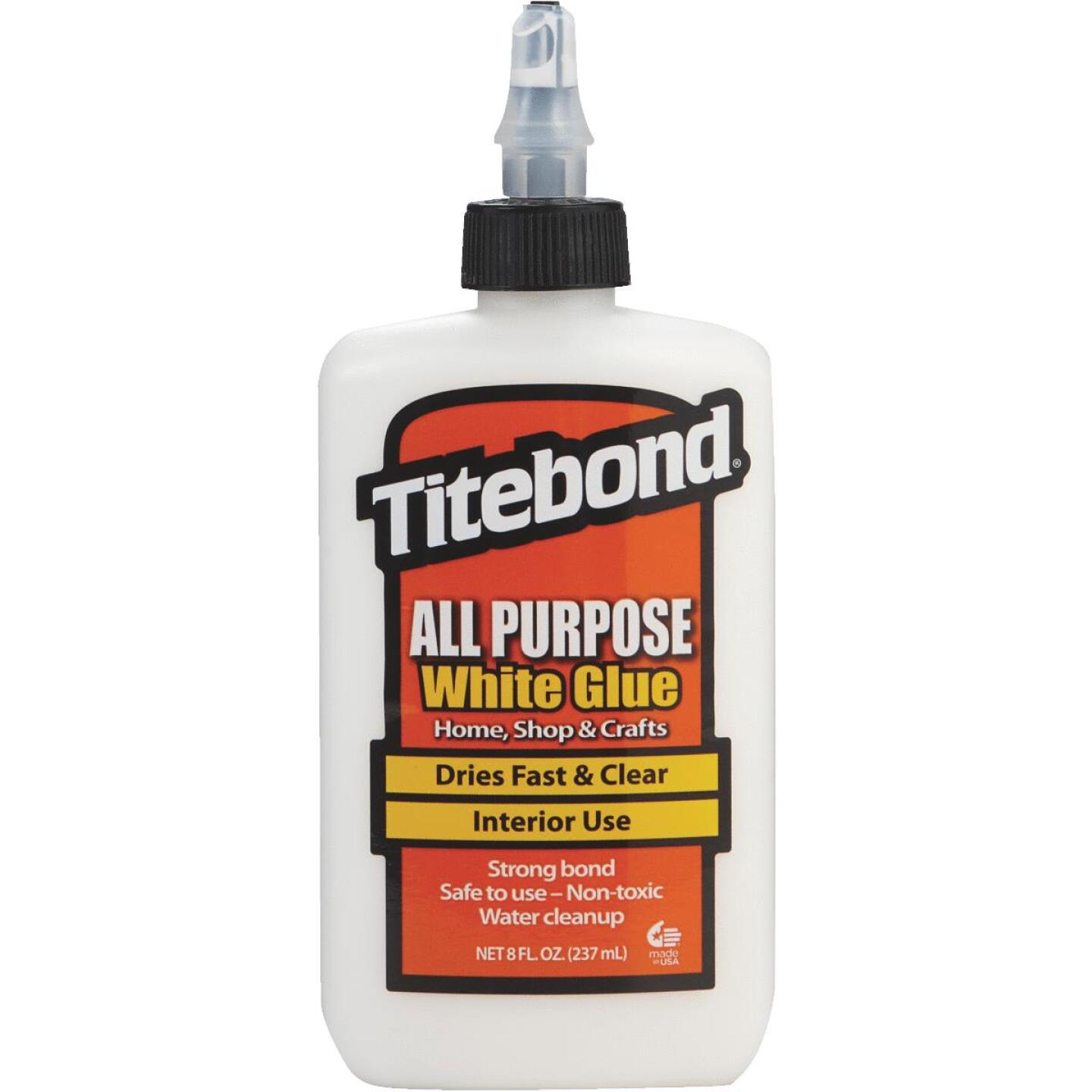 Titebond 8 Oz. White All-Purpose Glue Image 1