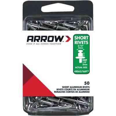 Arrow 3/16 In. x 1/8 In. Aluminum IP Rivet (50 Count)