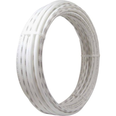 SharkBite 1/2 In. x 100 Ft. White PEX Pipe Type B Coil