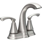 Moen Tiffin Brushed Nickel 2-Handle Lever 4 In. Centerset Bathroom Faucet Image 1