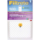 3M Filtrete 20 In. x 20 In. x 1 In. 1500 MPR Allergen, Bacteria & Virus Smart Furnace Filter Image 1