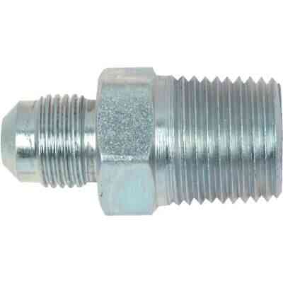 Dormont 3/8 In. OD Flare x 1/2 In. MIP (tapped 3/8 In. FIP) Brass Adapter Gas Fitting