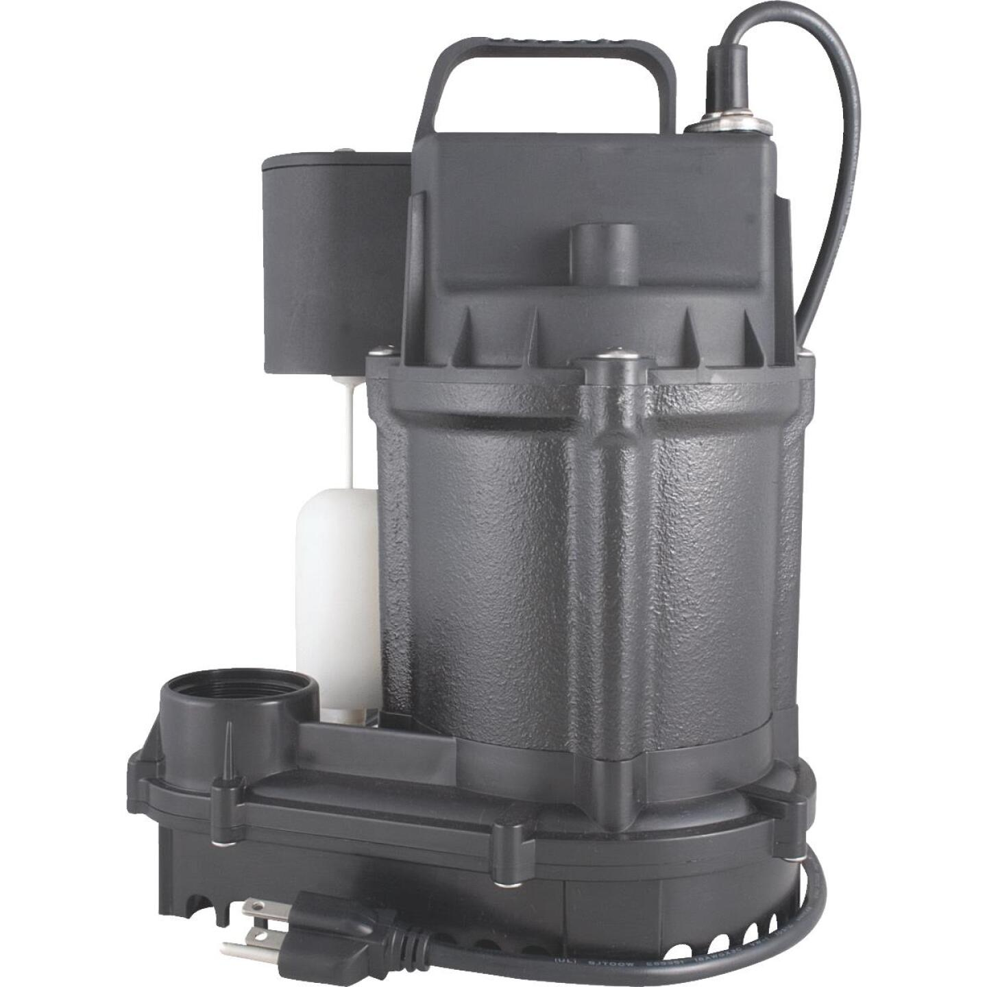 Do it Best 1/3 HP Cast-Iron Submersible Sump Pump Image 1