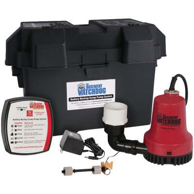 The Basement Watchdog Emergency Backup Sump Pump System