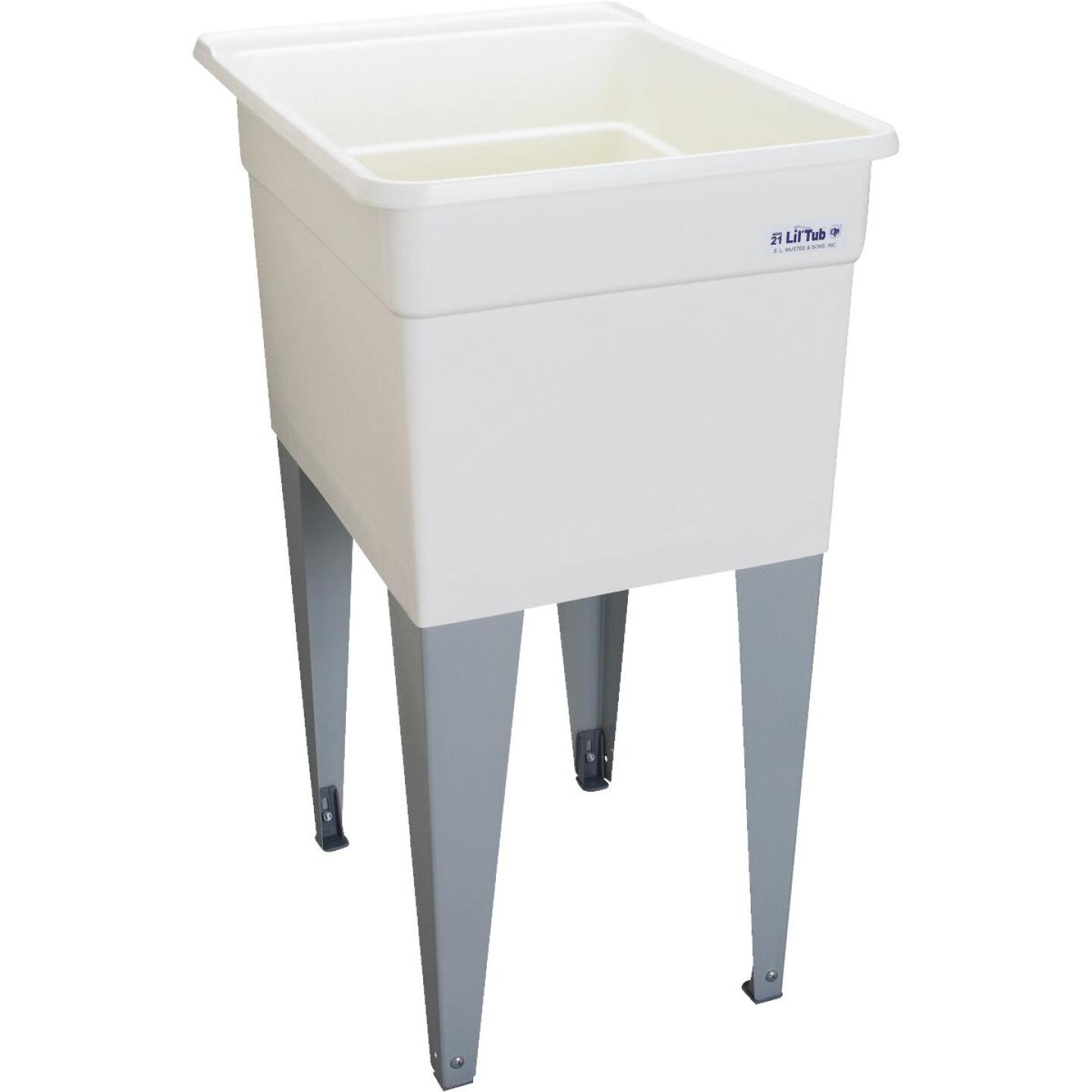 Mustee Liltub Utilitub 15 Gallon 18 In. W x 24 In. L Laundry Tub Image 1