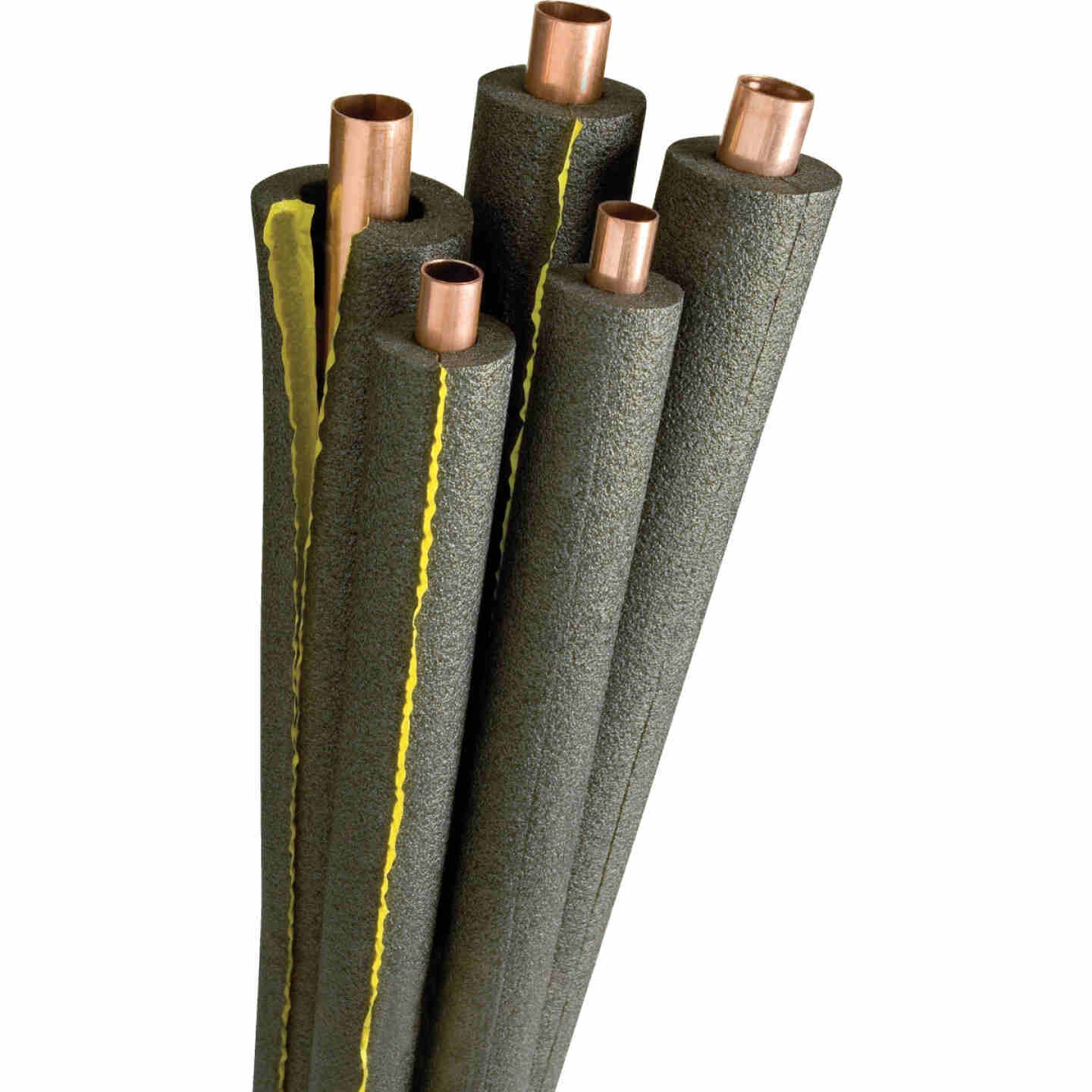 Tundra 1/2 In. Wall Self-Sealing Polyethylene Pipe Insulation Wrap, 2 In. x 6 Ft. Fits Pipe Size 2 In. Iron Image 1
