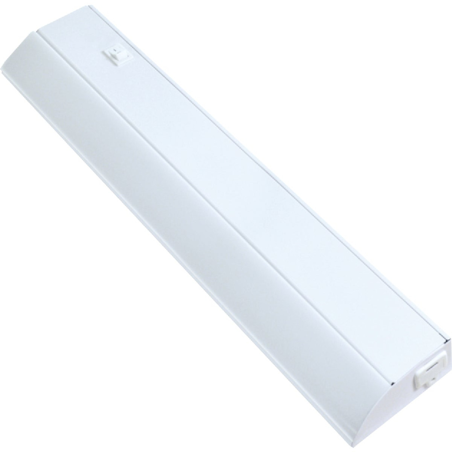 Good Earth Lighting Ecolight 18 In. Direct Wire White LED Under Cabinet Light Bar Image 1