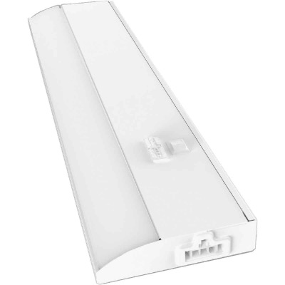 Good Earth Lighting 12 In. Direct Wire White LED Color Temperature Changing Under Cabinet Light