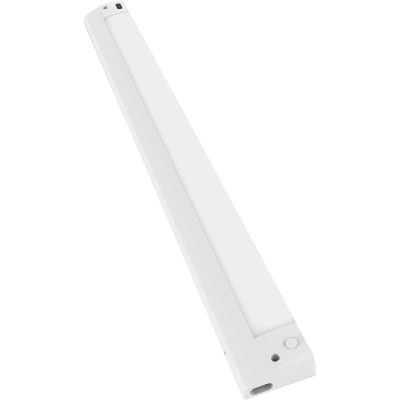 Good Earth Lighting 18 In. Plug-In White LED Color Temperature Changing Under Cabinet Light
