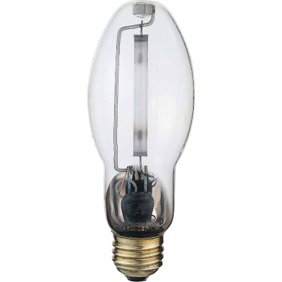 Satco 35W Clear ED17 Medium High-Pressure Sodium High-Intensity Light Bulb