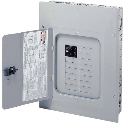 Eaton BR 100A 12-Space 24-Circuit Indoor Plug-On Neutral Load Center