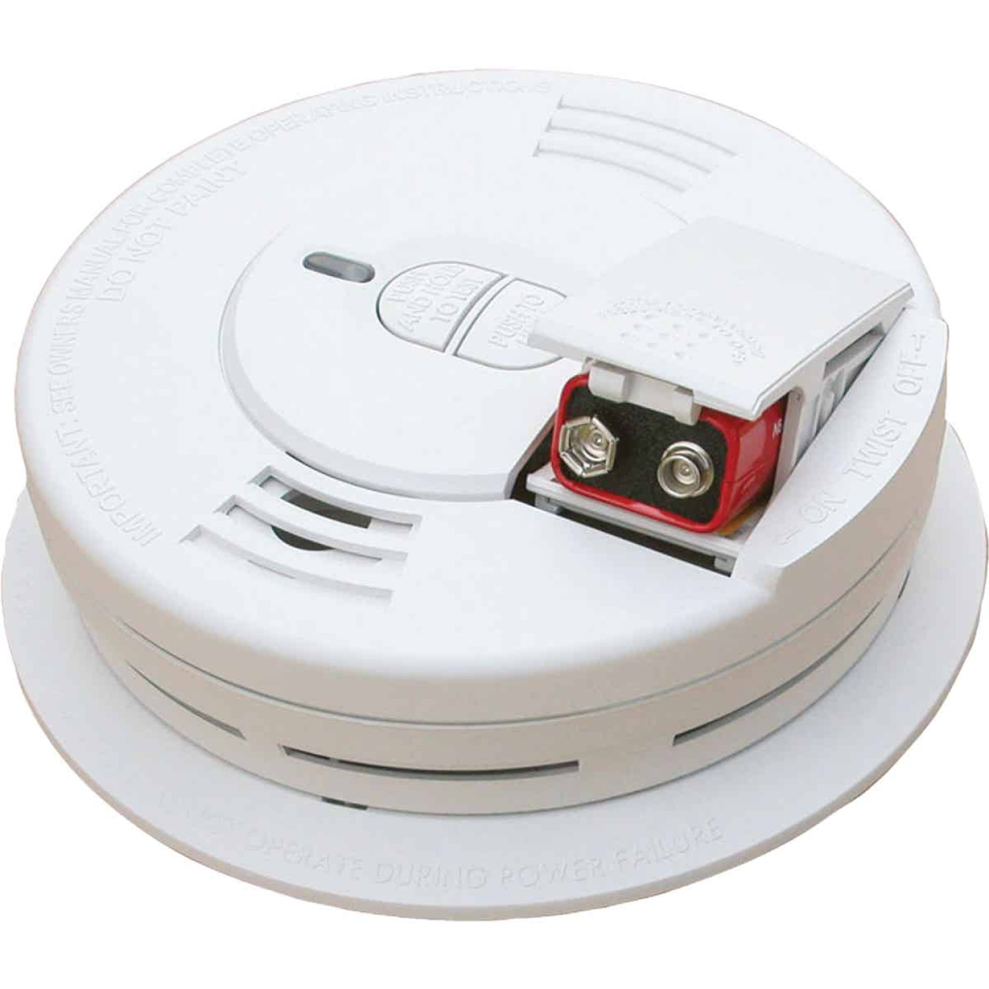 Kidde i9070 Battery Operated 9V Ionization Smoke Alarm Image 1