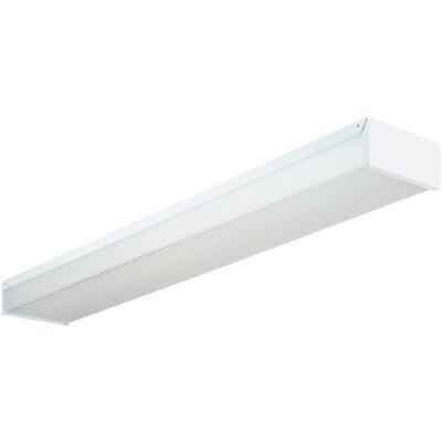 Lithonia 4 Ft. 2-Bulb Fluorescent Utility Wraparound Light Fixture