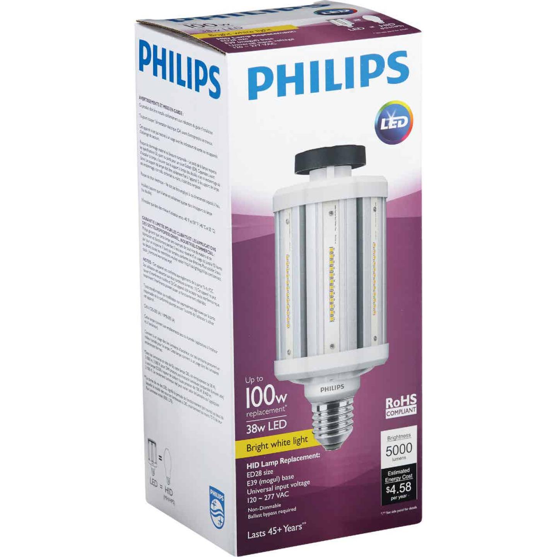 Philips TrueForce 38W Clear Corn Cob Mogul Base LED High-Intensity Light Bulb Image 4