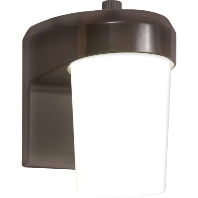 Halo Bronze Dusk To Dawn LED Outdoor Area Light Fixture