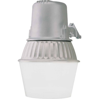All-Pro Metallic Dusk To Dawn Fluorescent Outdoor Area Light Fixture