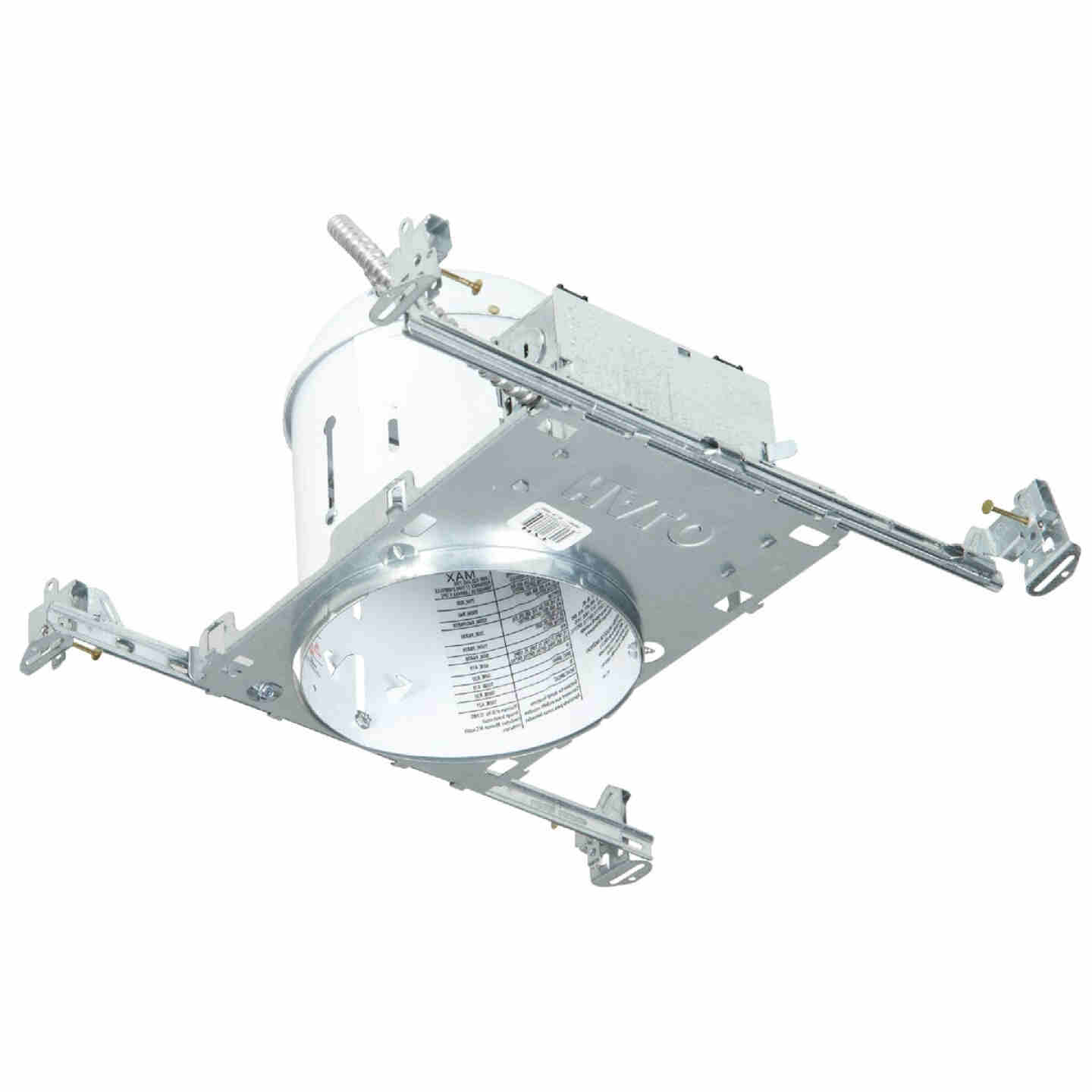 Halo 6 In. New Construction Non-IC Rated Recessed Light Fixture Image 1