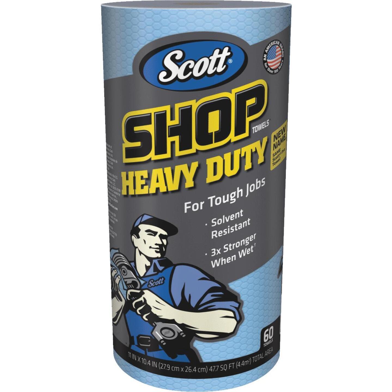 Scott Pro 11 In. W x 10.4 In. L Disposable Heavy-Duty Shop Towel (60-Count) Image 1