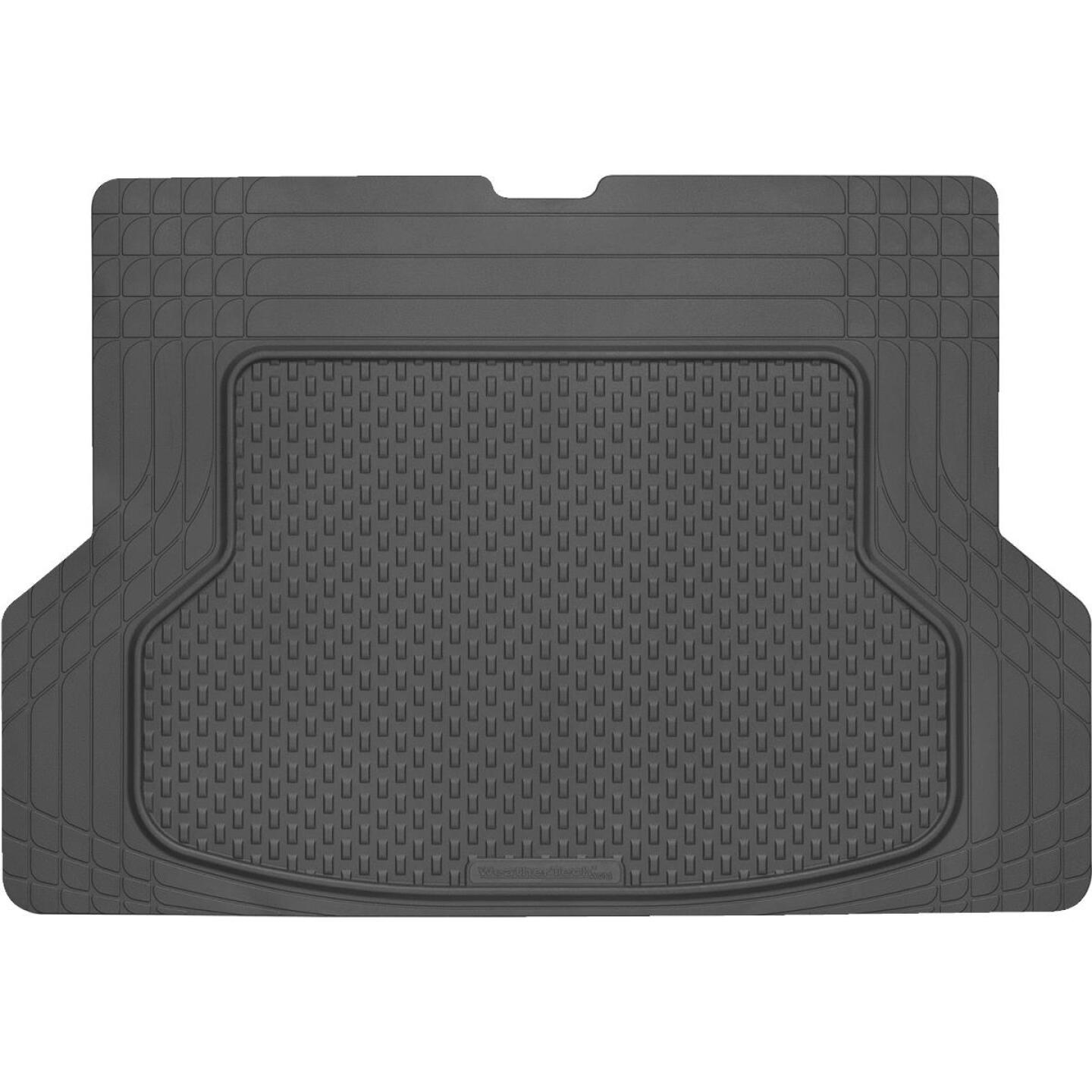 WeatherTech AVM Trim-to-Fit Black Rubber Universal Cargo/Floor Mat Image 1