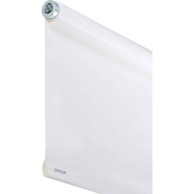Levolor 73 In. x 66 In. White Vinyl Roller Shade