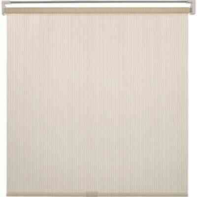 Home Impressions 72 In. x 72 In. Ivory Fabric Indoor/Outdoor Cordless Roller Shade