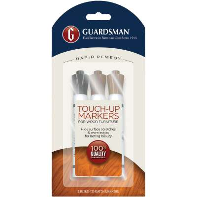Guardsman Rapid Remedy Wood Furniture Touch-Up Marker (3-Count)