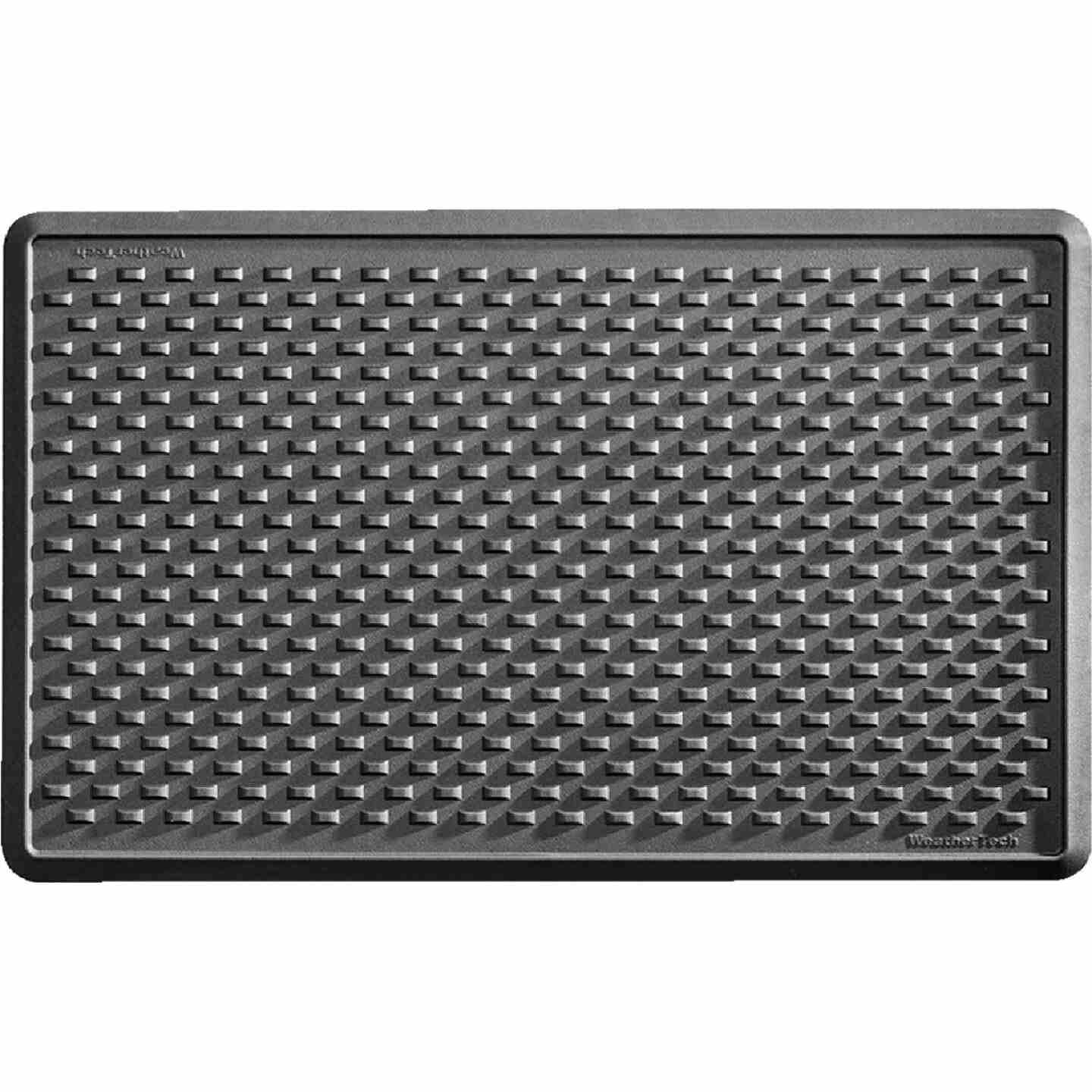 WeatherTech 24 In. x 39 In. Black Indoor Mat Image 1