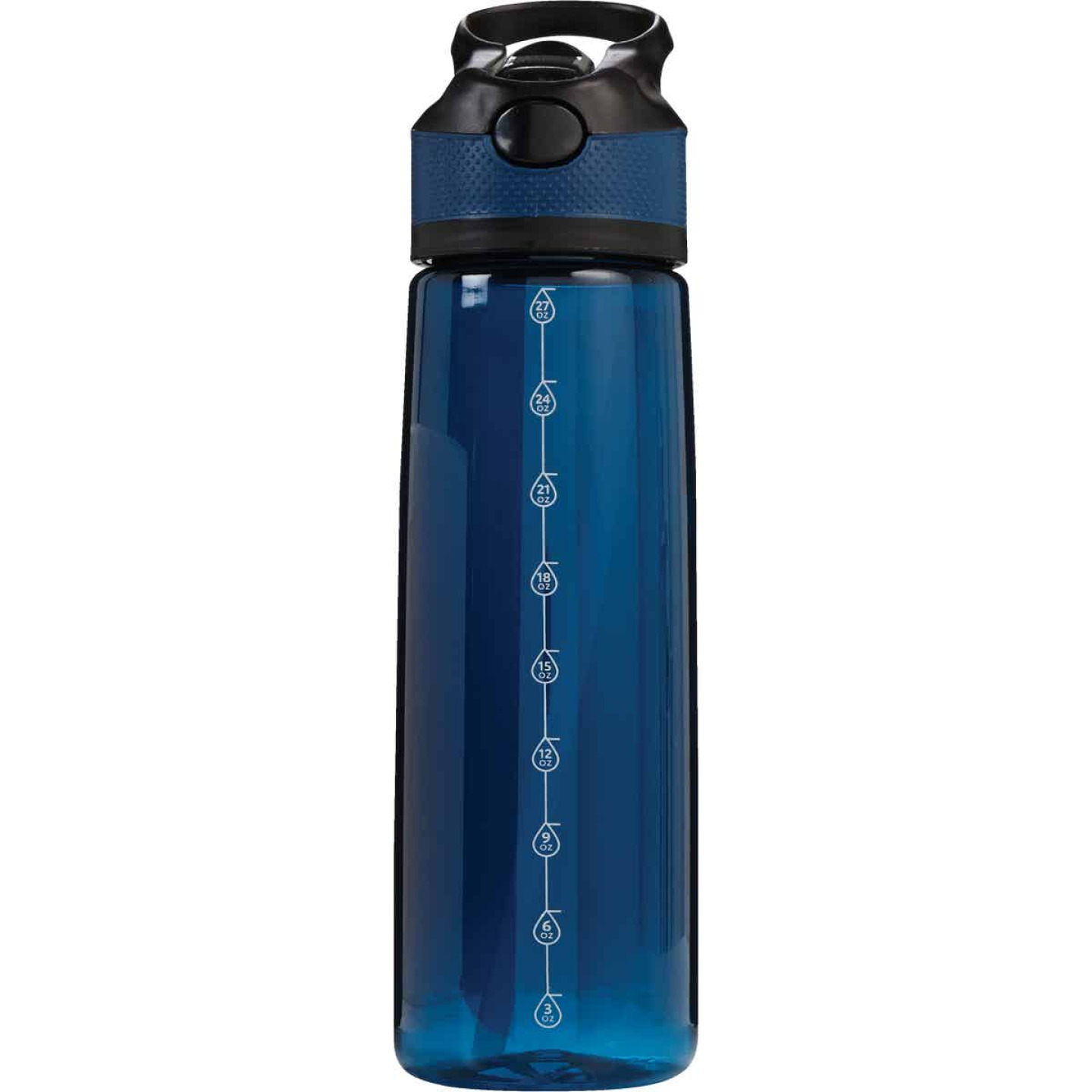 Manna 27 Oz. Navy Tritan Water Bottle Image 1