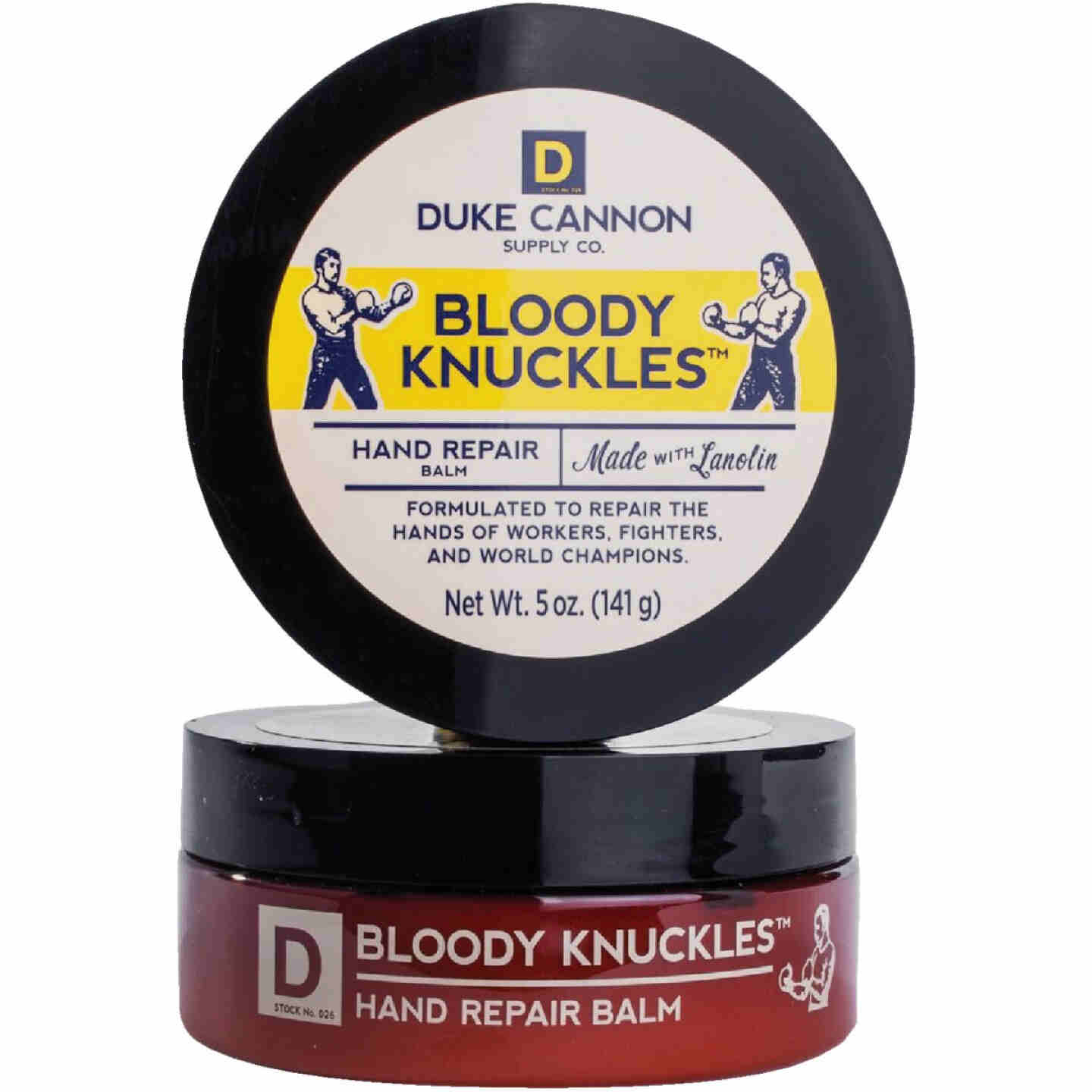 Duke Cannon Bloody Knuckles 5 Oz. Hand Repair Balm Image 1