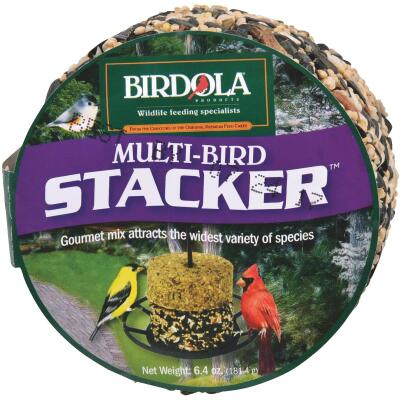 Birdola Multi-Bird Stacker 6.4 Oz. Wild Bird Seed Cake